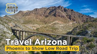 Phoenix to Show Low - An Arizona Road Trip Travel Vlog