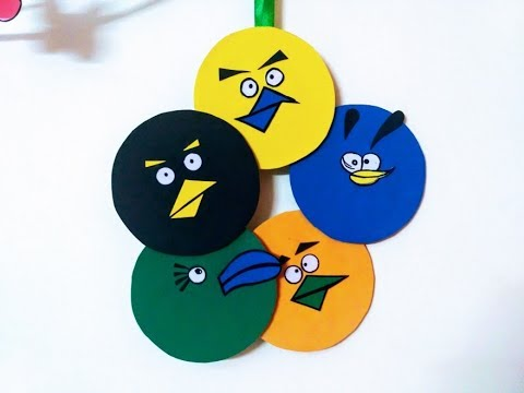 Diy Angry Birds Room Decor Super Easy Using Cardboard