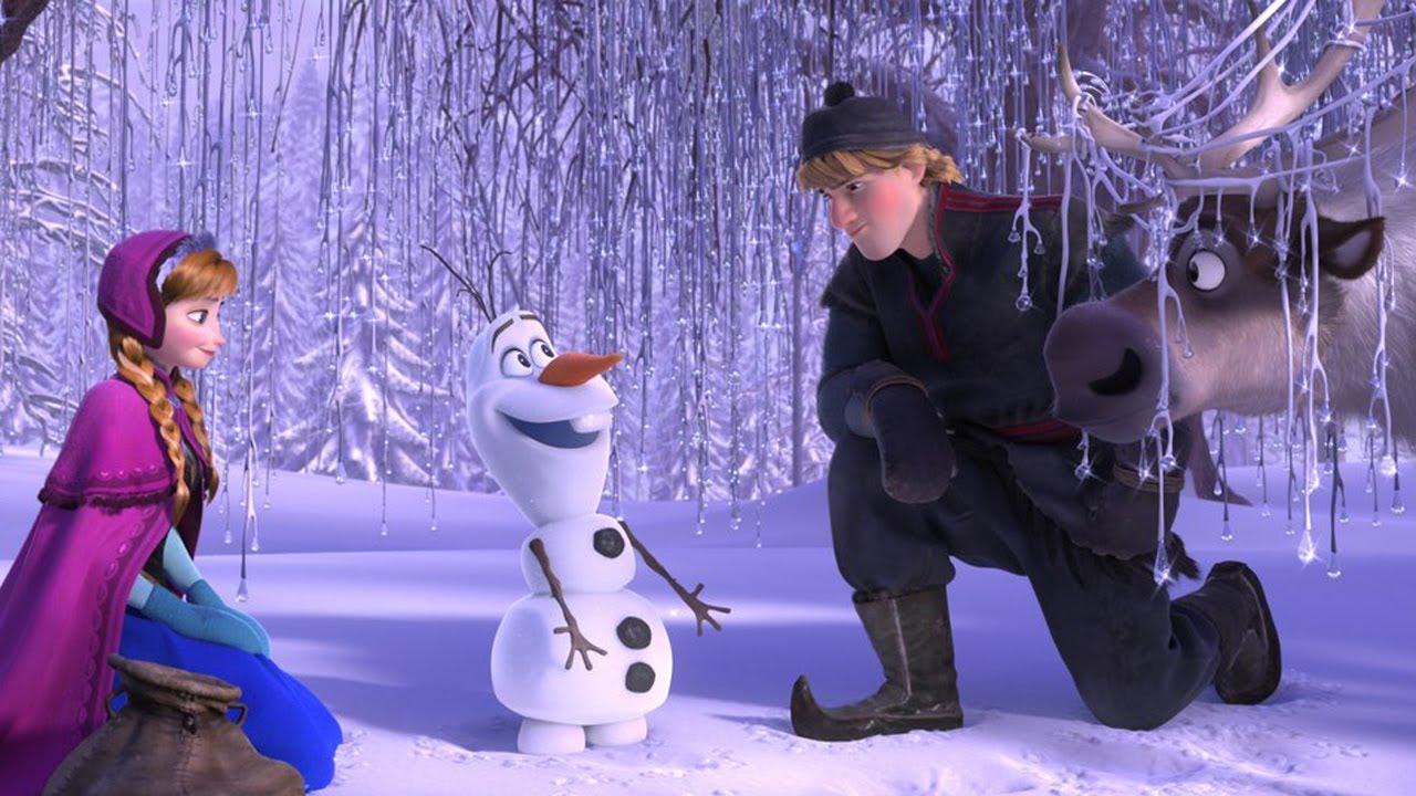 рассказ о мультфильме холодное сердце на английском языке это поможет Вам