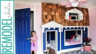 Bunk Bed Playhouse Tutorial