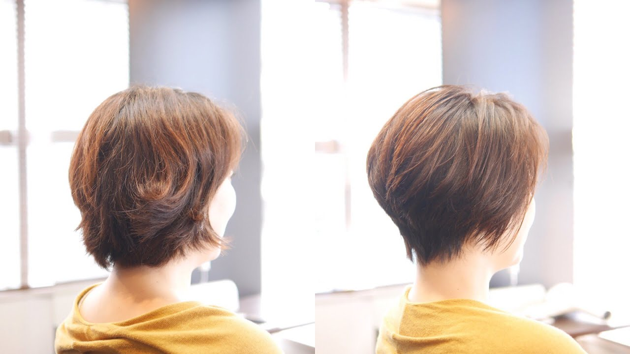 「剛毛 多毛」広がる髪質を活かして「絶壁後頭部」を丸い髪型に!