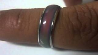 Ring Changing Color