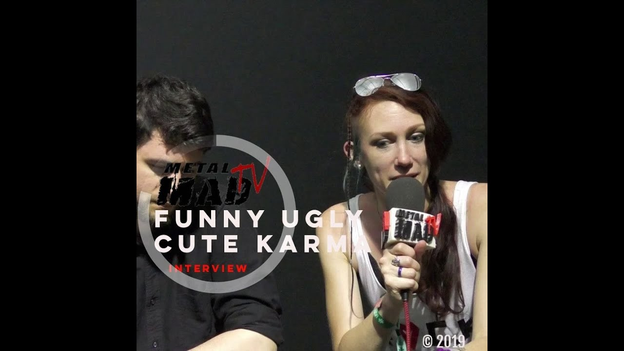 Interview FUNNY UGLY CUTE KARMA au Hellfest