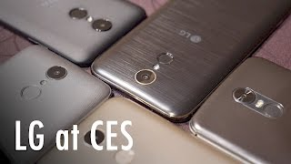 LG K10, Stylo 3, and more at CES 2017