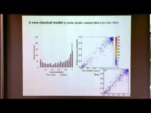 How Quantum is D-Wave?