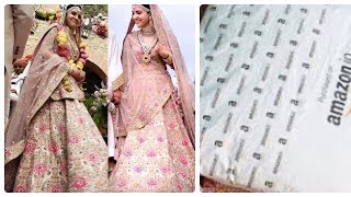 Amazon lehenga|wedding lehenga at Amazon|Amazon lehenga review|online shopping review|best lehenga
