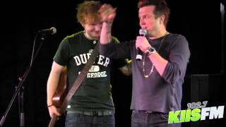 Gambar cover 102.7 KIIS-FM: Ed Sheeran Freestyle Raps w/ JoJo