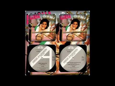 ALISHA - BABY TALK (SPECIAL REMIX, DUB-INSTRUMENTAL, DUB-VOCAL 1985)