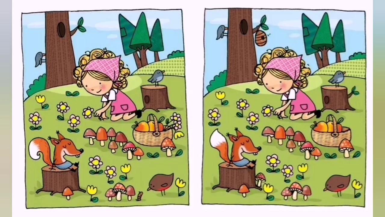 Тест найди отличия картинки