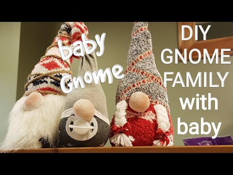 DIY Christmas Gnome **FAMILY**  2018
