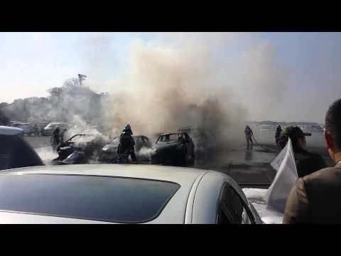 Prius destroys cars at USS Tokyo Auctions!