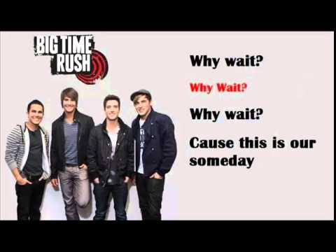 This is Our Someday - Big Time Rush Lyrics
