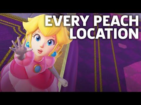 Where To Find Princess Peach In Super Mario Odyssey