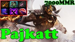 Dota 2 - Pajkatt 7000 MMR Plays Elder Titan - Ranked Match Gameplay