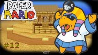 Paper Mario capítulo 12 El faraón de las ruinas