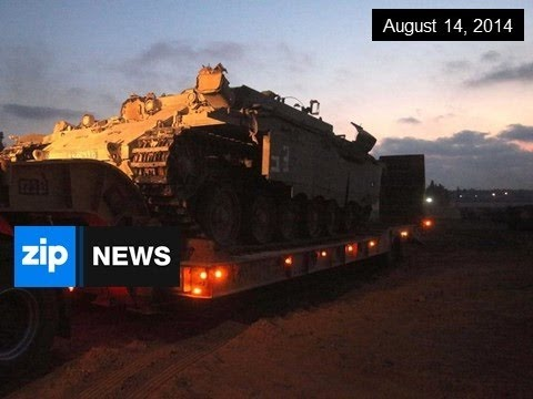 Gaza Truce Extended For 5 Days - August 14, 2014