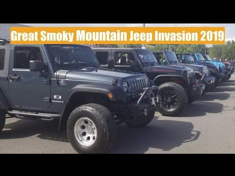 Great Smoky Mountain Jeep Invasion 2019 Youtube
