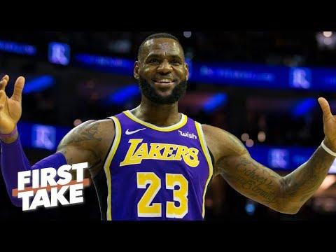 LeBron James deserves extra credit if Lakers make 2019 NBA playoffs – Max Kellerman | First Take