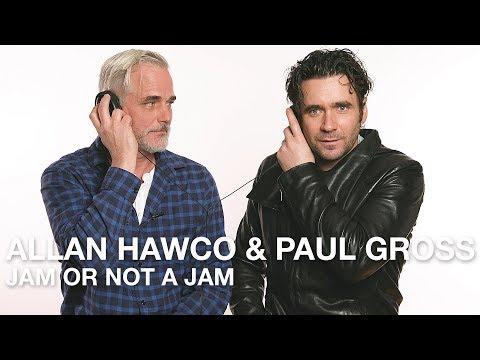 Allan Hawco & Paul Gross Play Jam or Not a Jam!