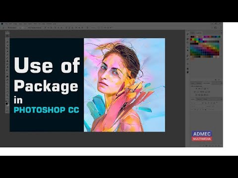 Quick Tutorial On Package In Adobe Photoshop CC (Hindi) | Place Embedded VS Place Linked