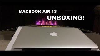 Macbook Air 13 Unboxing 2017