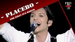 """Placebo """"For what it's worth"""" (Live on TV Show - Taratata 2009)"""