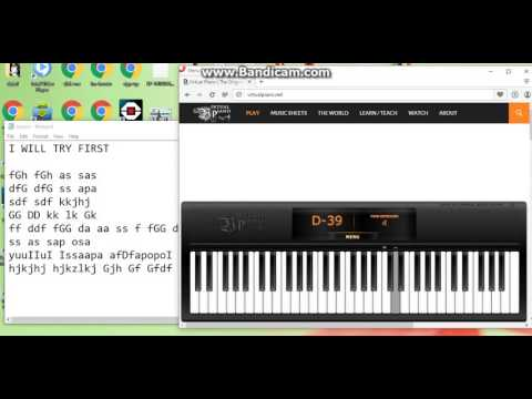Aashique 2 Background Song On Virtual Piano Youtube