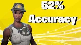 52% Accuracy WHERE IS MY AIM ASSIST (Fortnite Battle Royale)
