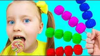 Learn Colors with Fruits Song | Kids Song and Nursery Rhymes | Milli and Family