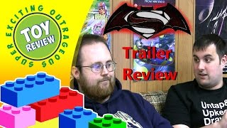 Batman v Superman: Dawn of Justice Movie Trailer Review - SEO Toy Review(Ryan and Kevin sit down to talk about the various trailers for Batman v Superman. What does Dawn of Justice mean for the DC Comics movie universe?, 2016-03-20T17:00:02.000Z)