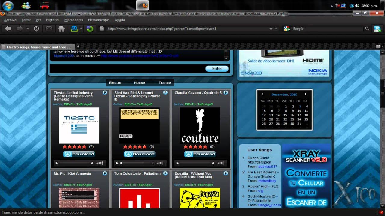 Pagina Para Descargar Musica Electro, Trance Y House By