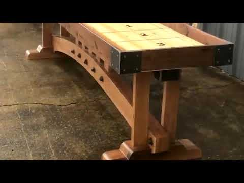 Kush Custom Hand Crafted Shuffleboards from Industrial Farmhouse