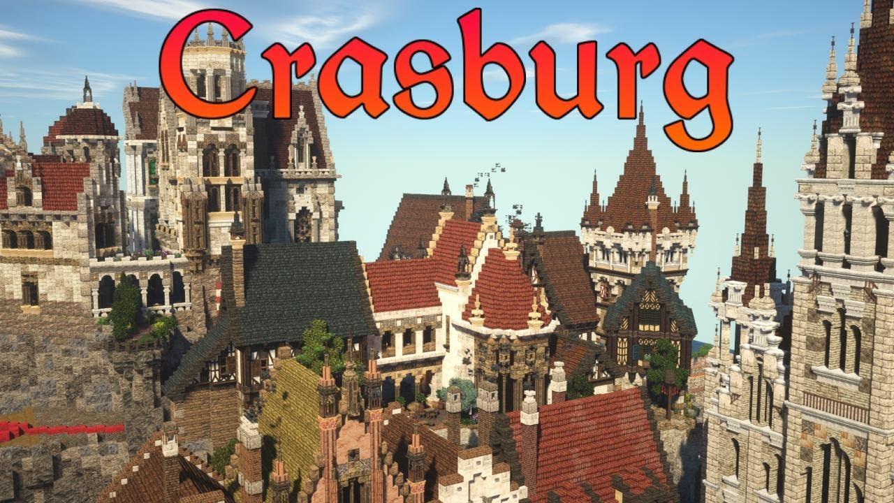 Huge Addition To The City | Crasburg | Episode 82 - Medieval Minecraft City