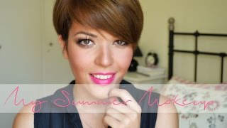The Summer Makeup Edit |Sunkissed Glow & Bubblegum Lips |  Lousousou