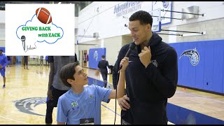 Giving Back with Zack- Aaron Gordon of the Orlando Magic Interview
