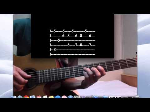 Love Of My Life   Queen Tutorial For Solo Guitar