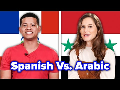 How Similar Are Spanish And Arabic?