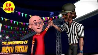 Motu Patlu | Boxing Competition | Best Cartoon For Kids