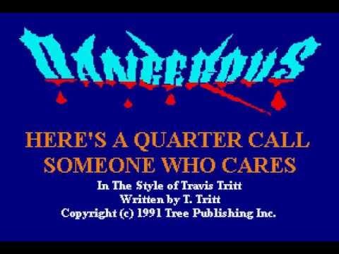 Travis Tritt - Here's A Quarter - Karaoke
