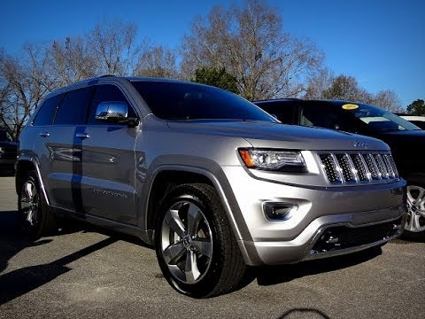 2014 JEEP GRAND CHEROKEE OVERLAND  Pre-owned