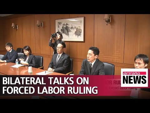 Seoul, Tokyo hope to overcome differences on wartime labor issue