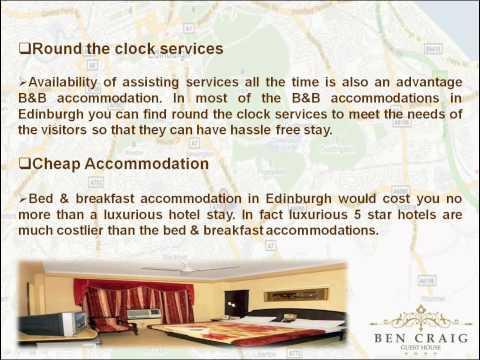 Edinburgh Bed & Breakfast Accommodation - Your Home In Edinburgh City