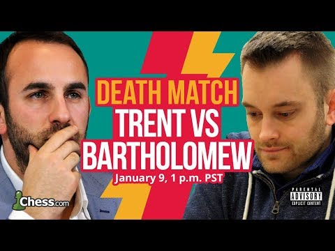 Blitz Chess Death Match: John Bartholomew Vs Lawrence Trent