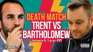 Blitz Chess Death Match: John Bartholomew Vs Lawrence Trent