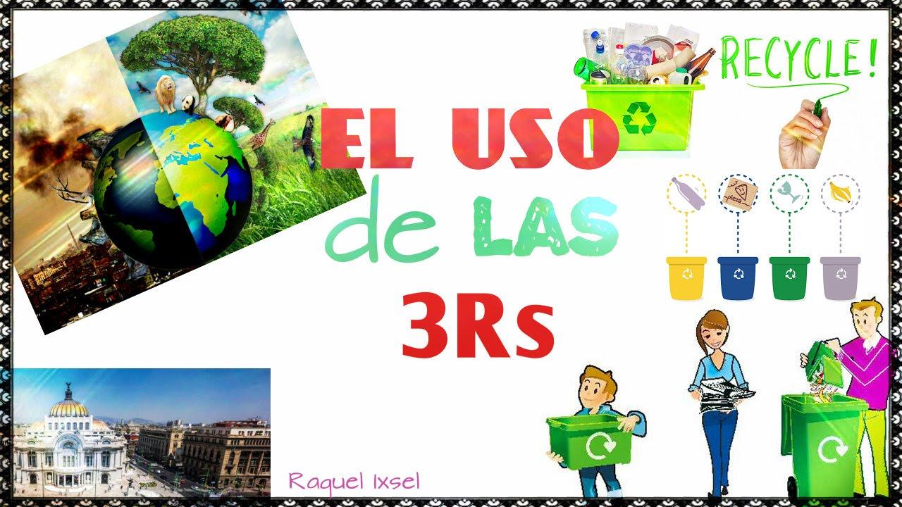 El uso de las 3 r 39 s youtube for Dibujos de las 3 r