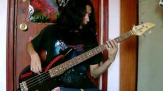 Burnt Offerings - Testament Bass Cover -