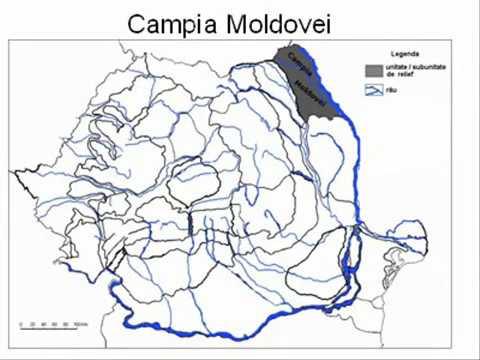 Unitatile Si Subunitatile De Relief Ale Romaniei Youtube