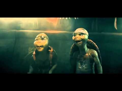 TMNT 2014 Clip  Splinter Flashback HD