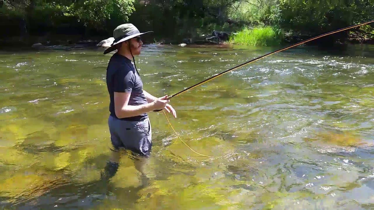 Kern River Fly Fishing Aug 24, 2017