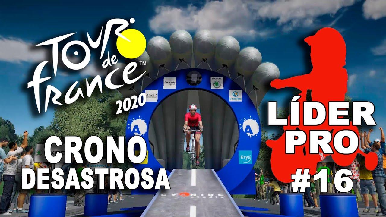 TOUR DE FRANCE 2020 Líder Pro #16 VR_JUEGOS
